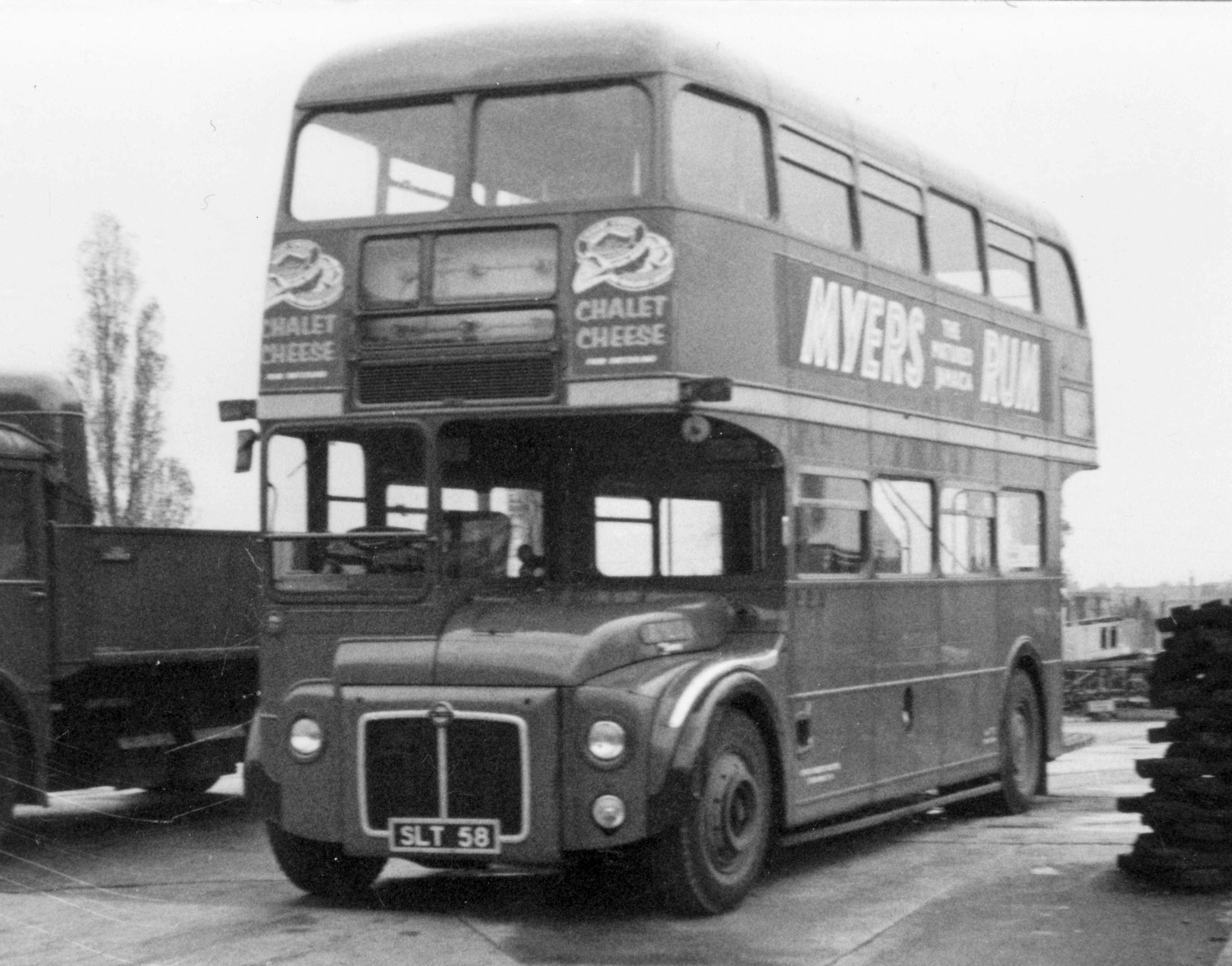 Accident In Surrey Today >> 1957 Leyland Routemaster prototype bus - RML3 - London Bus ...