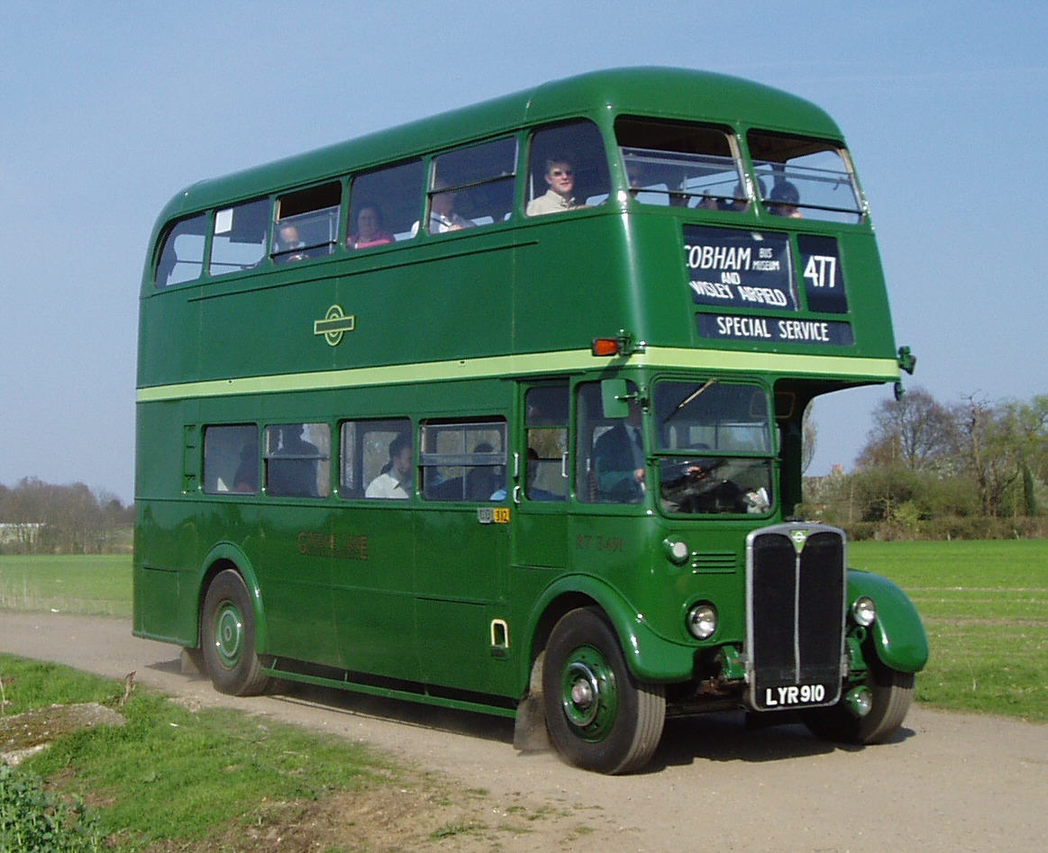 1952 AEC Regent III bus - RT3491 - London Bus Museum