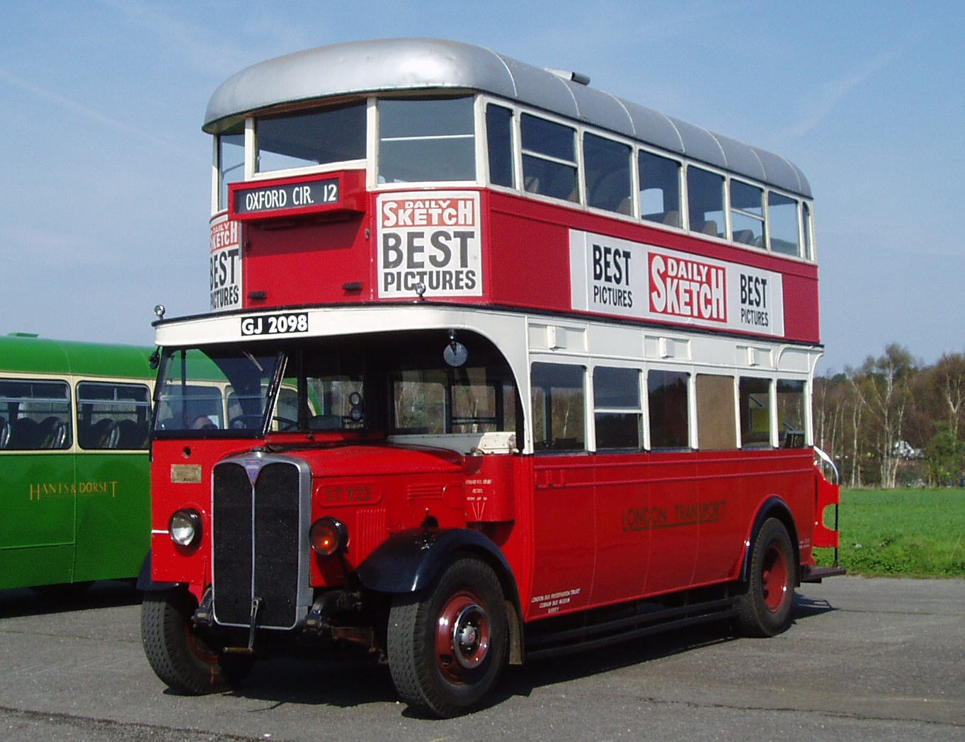 1930 AEC Regent I bus - ST922 - London Bus Museum