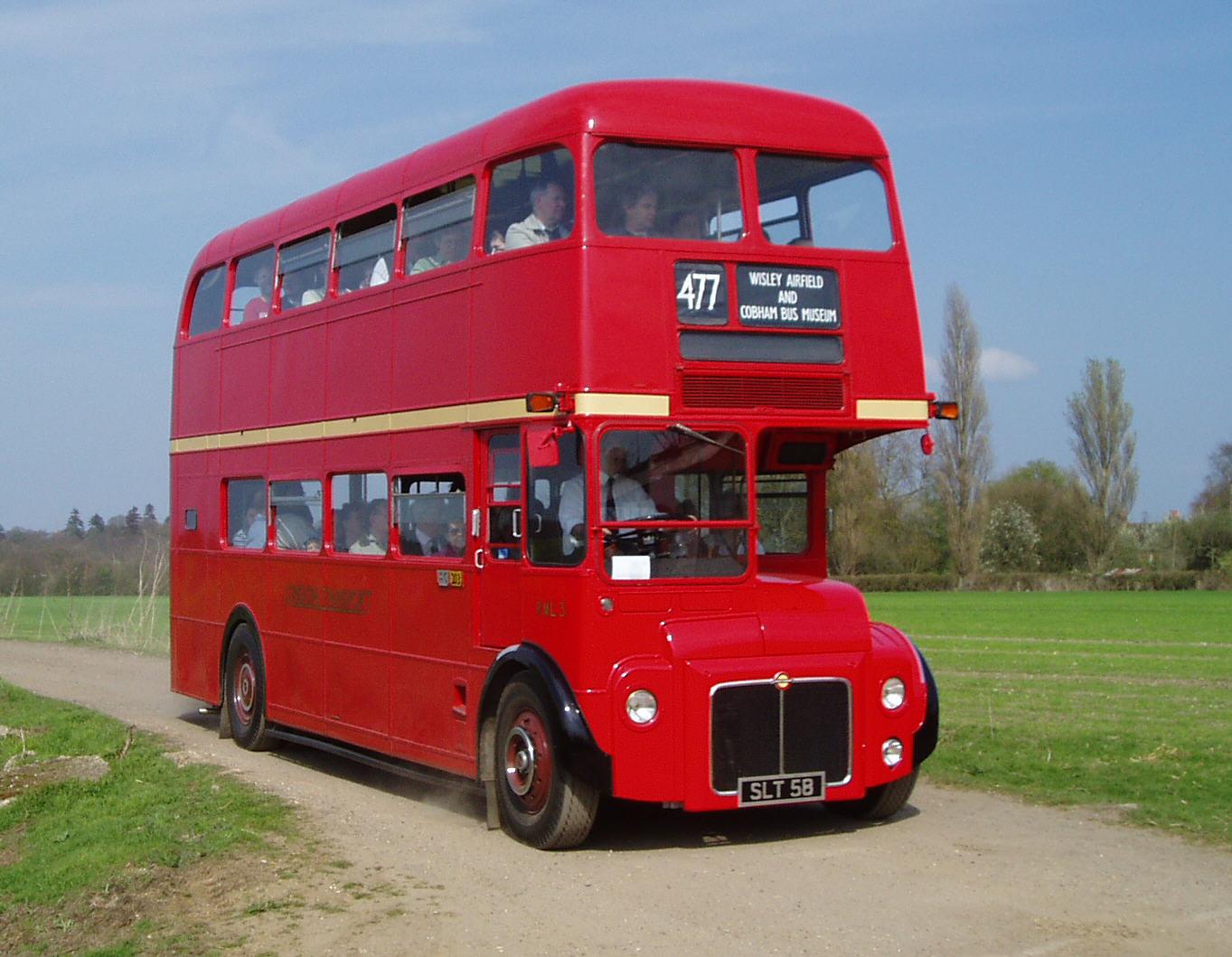 Home Repair 1957 Leyland Routemaster Prototype Bus Rml3 London Bus