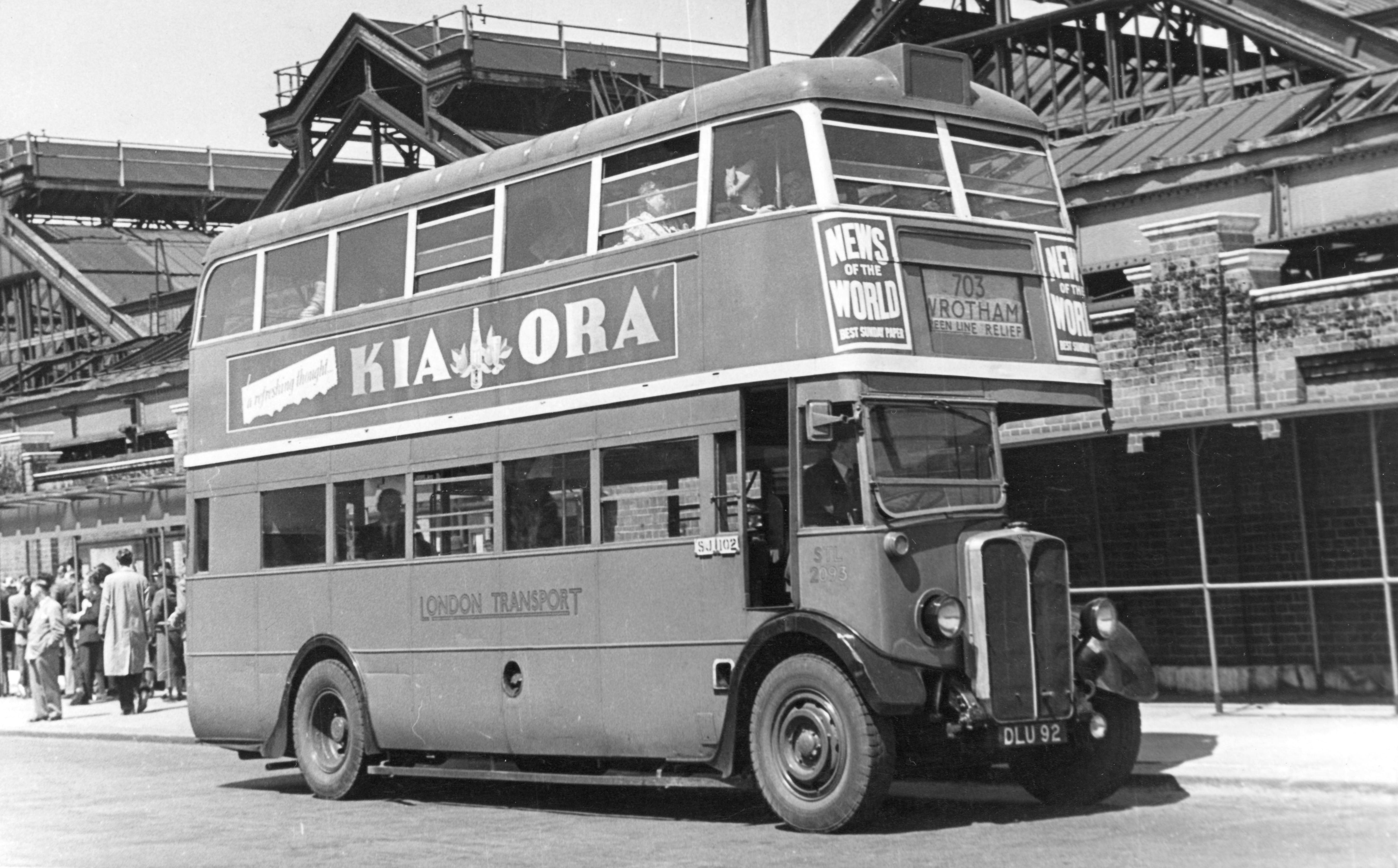 1937 Aec Regent I Bus Stl2093 London Bus Museum