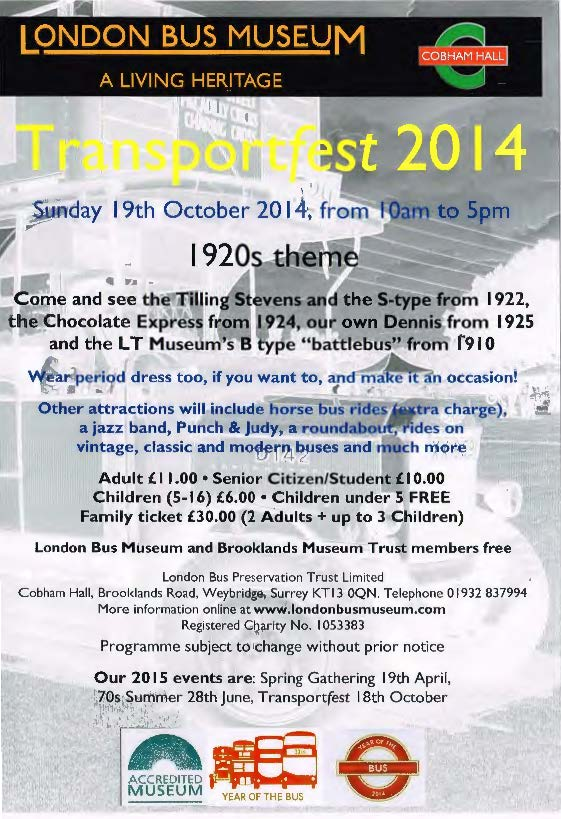 Transportfest 2014 - flyer