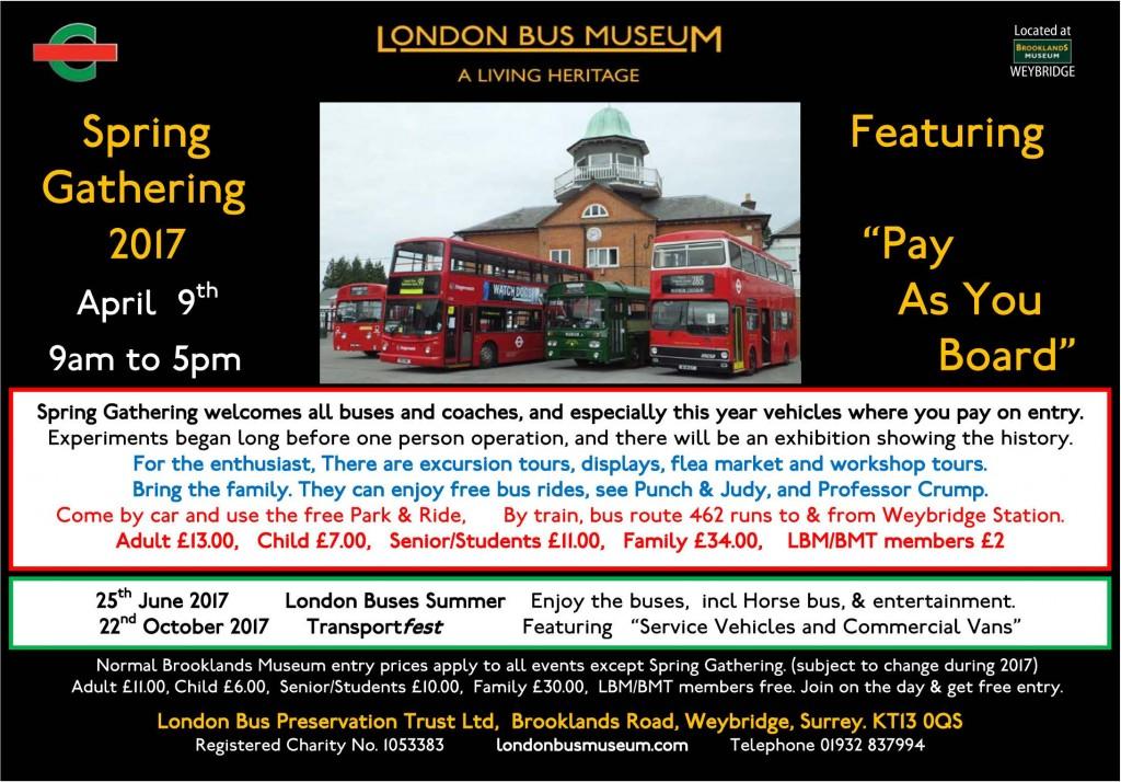 Programme of events flyer 2017 - A5 Landscape B&C