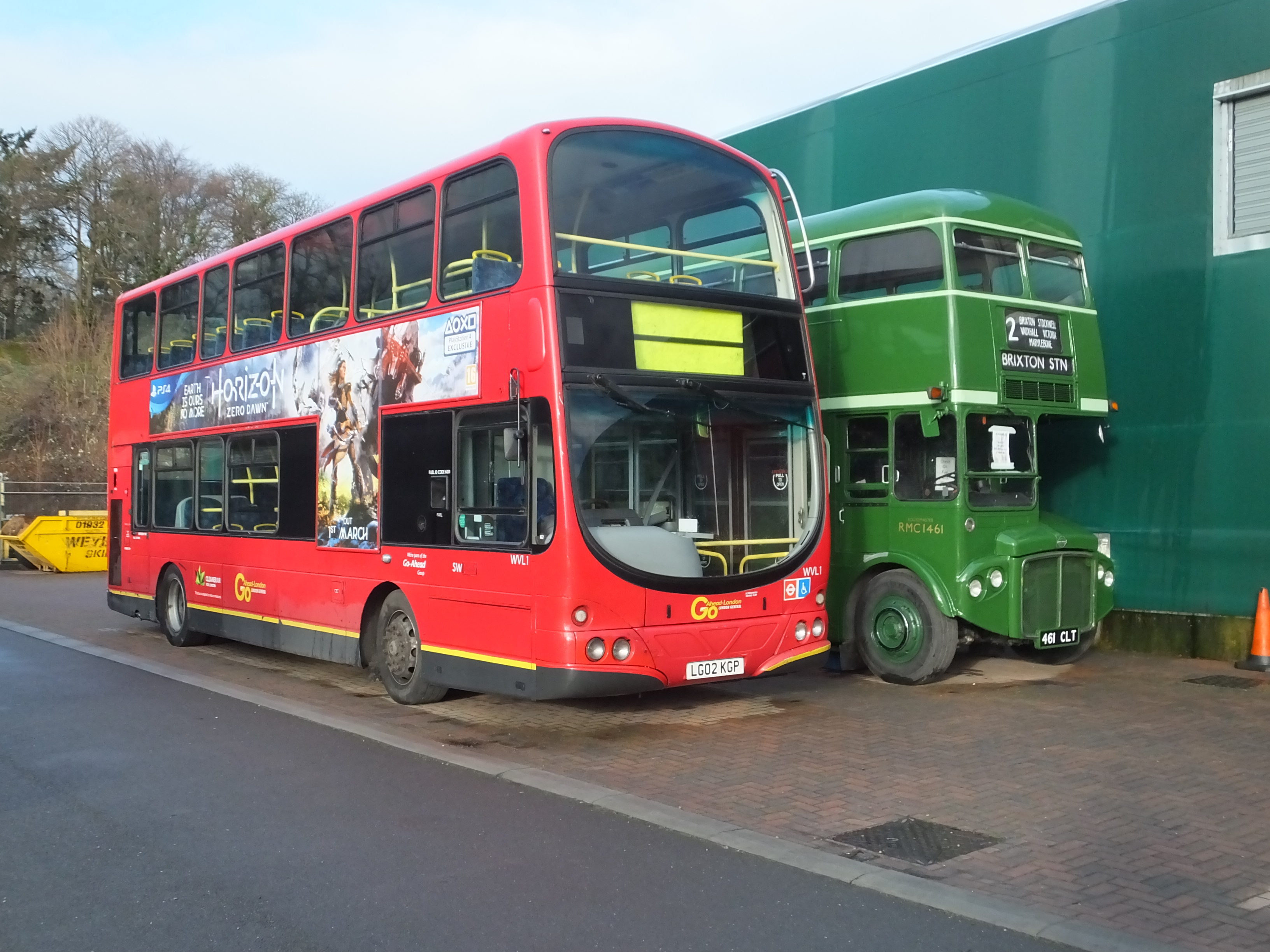 Wvl 1 London Bus Museum